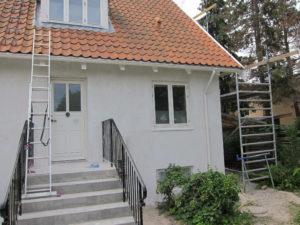 Eksempel 3 på facaderenovering udført at Arcusbyg fra Arcusbyg.dk