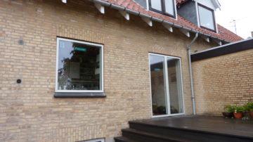 Udskiftning af vinduer og døre