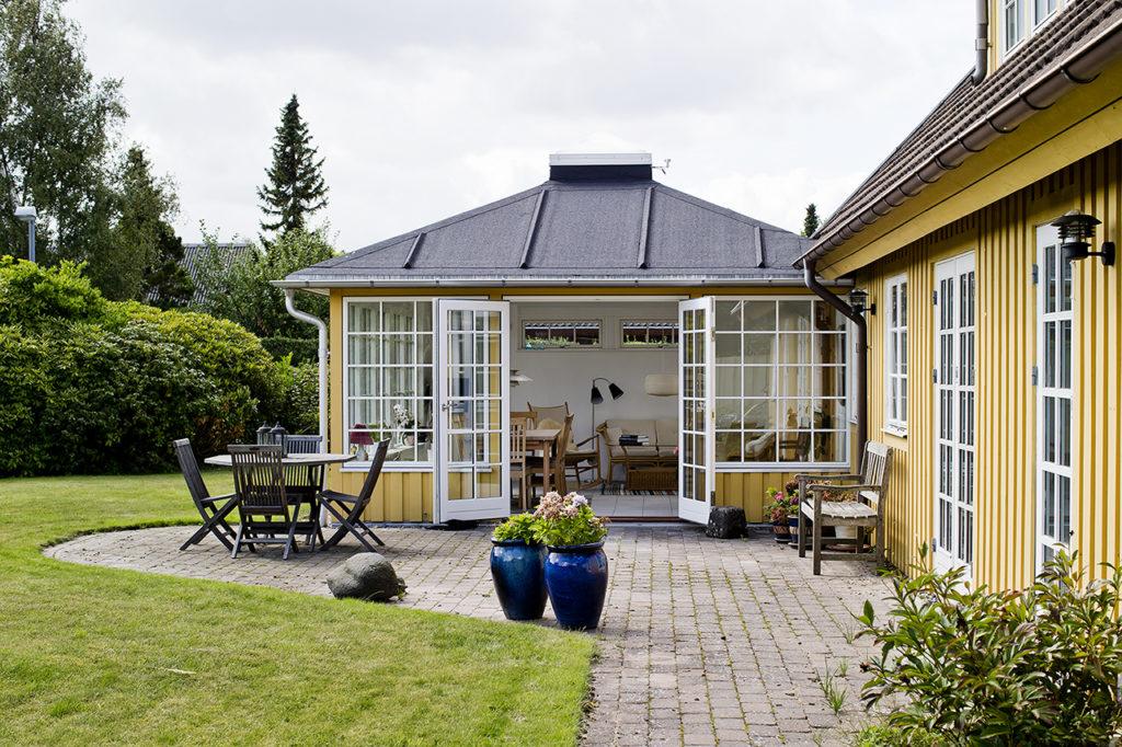 Udestue og vintehave, eksempel 1 fra Arcusbyg.dk