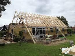 Eksempel 4 på etablering af ny 1. sal / ny tagetage fra Arcusbyg