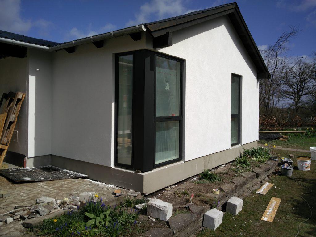 Eksempel 1 på facaderenovering udført at Arcusbyg fra Arcusbyg.dk